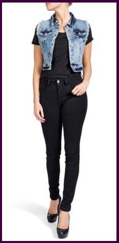 Giacca in jeans per donna estate