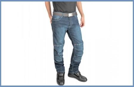 Jeans moto uomo con protezioni