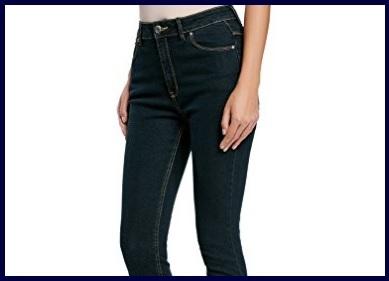 Jeans casual vita alta da donna