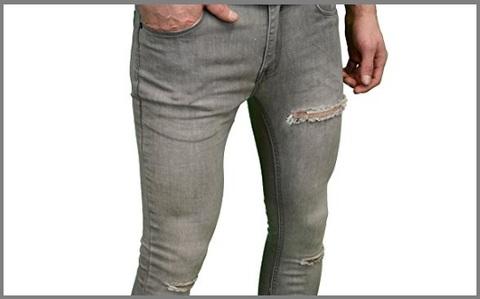 Jeans strappati di marca