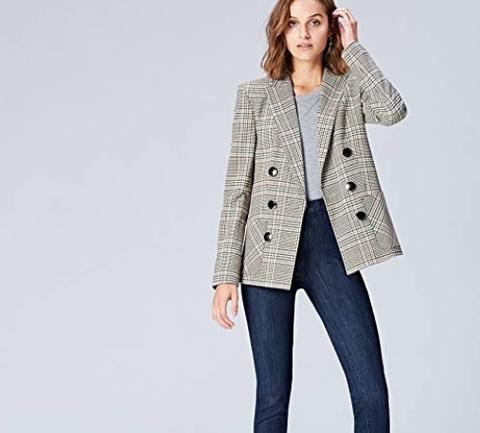 Jeans vita alta donna