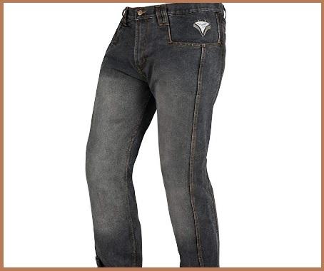 Jeans moto uomo estivi