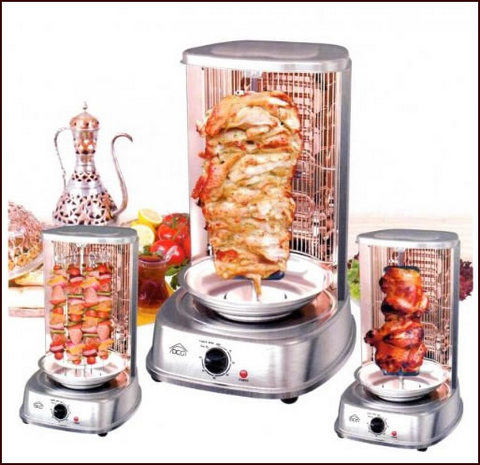 Macchina Da 21 Litri Forno Verticale Per Kebab