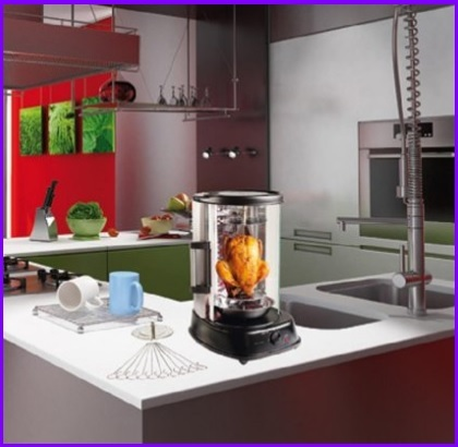 Macchina casalinga per kebab a gas