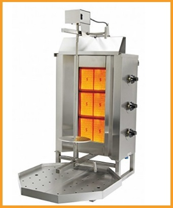Macchina Professionale Cuoci Kebab A Gas