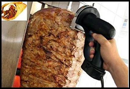 Taglia Kebab Elettrico