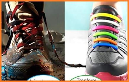 Lacci per scarpe elastici