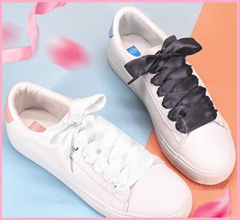 Lacci scarpe raso