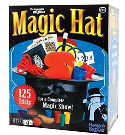 Scatola Magica Con Cappello E Giochi Di Prestigio