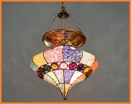 Lampada bohemian chic
