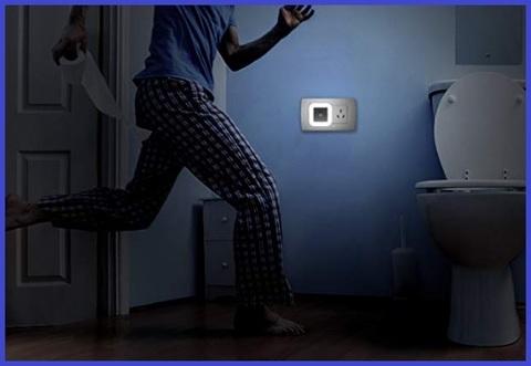 Lampada notturna sensore movimento