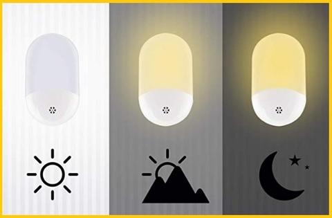 Lampada notturna bagno con sensore