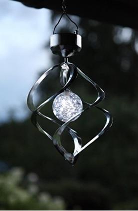Lampadario Eolica Energia Solare Bianco Freddo