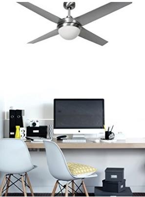 Ventilatore da soffitto lampadario con telecomando