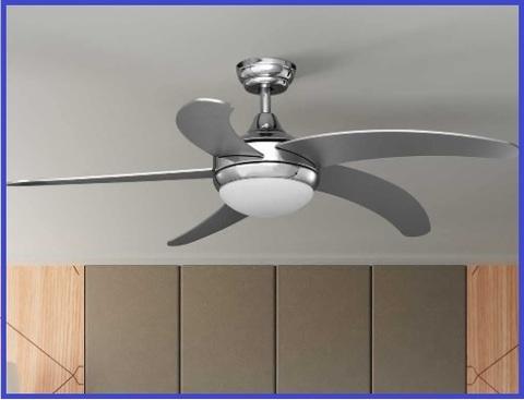 Ventilatore da soffitto classico lampadario