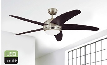 Lampadario ventilatore da soffitto risparmio energetico