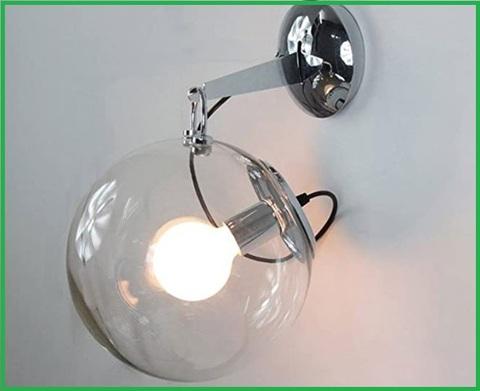 Lampada da parete semplice bolle di sapone