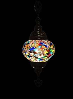 Lampada mosaico orientale e pendente