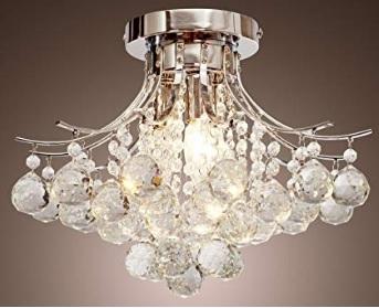Lampadari cristallo plafoniera