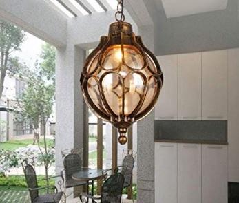 Lampadari da esterno vintage