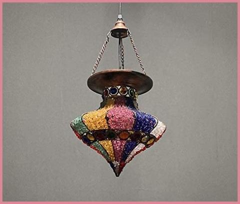Lampadario Bohemia Multicolore