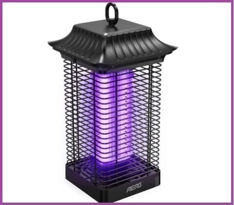 Lampada antizanzare da esterno