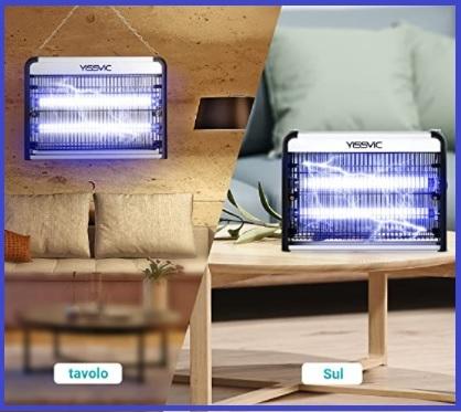 Lampada antizanzare elettrica