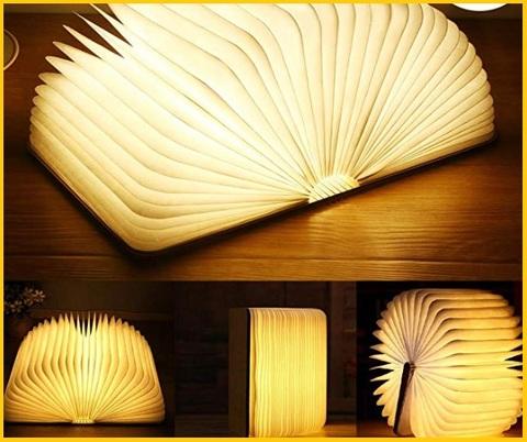 Lampada da lettura libro letto ricaricabile