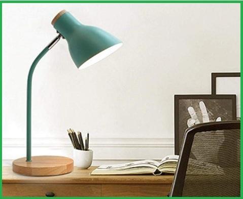 Lampada da lettura verde scura