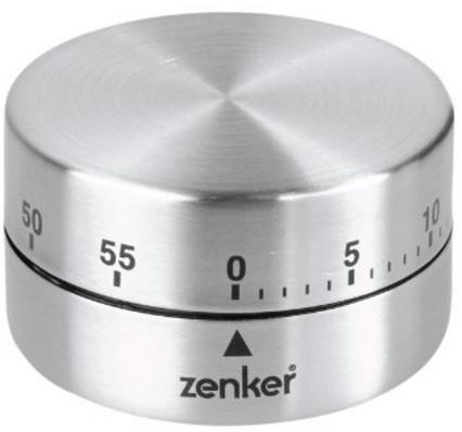 Timer Cilindrico Pratico In Acciaio Inox