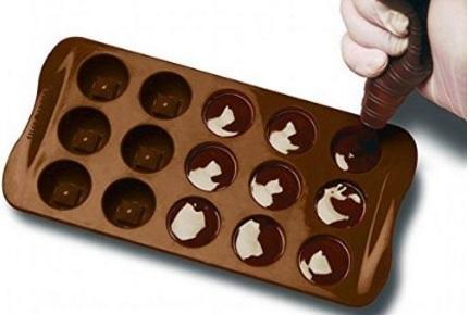 Stampo Per Biscotti In Silicone Forma Cioccolatini