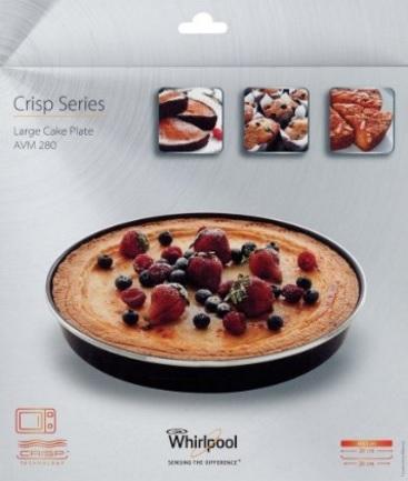 Tortiera per il forno o il microonde crisp