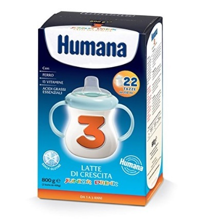 Latte In Polvere Humana Dai 3 Anni In Su