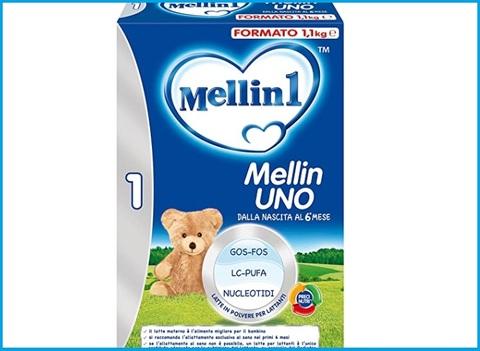 Latte per neonati in polvere