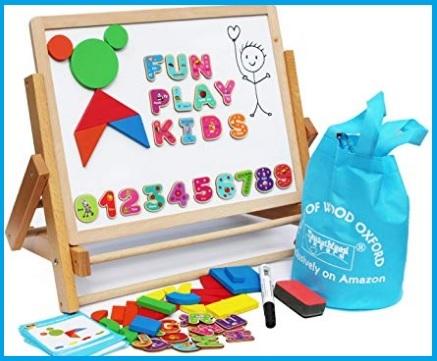 Lavagna Magnetica Per Bambini Lettere E Numeri