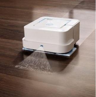 Lavapavimenti robot con sistema di pulizia