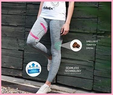 Leggings Anticellulite Vita Bassa