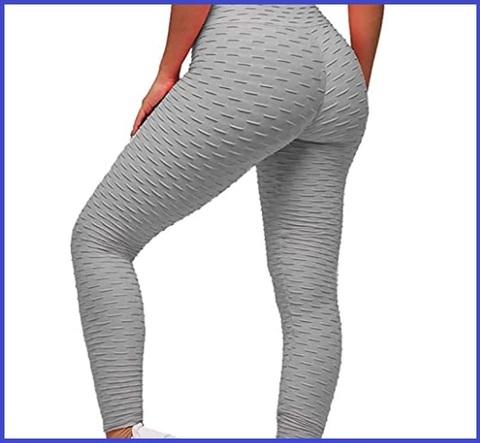 Leggings grigio donna
