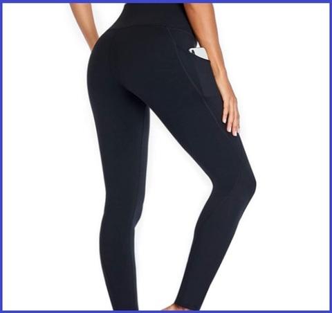 Leggings tasca donna