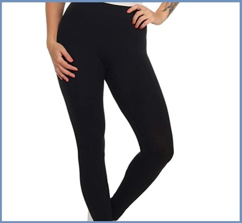 Leggings leggeri neri