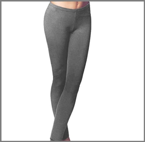 Leggings grigi donna