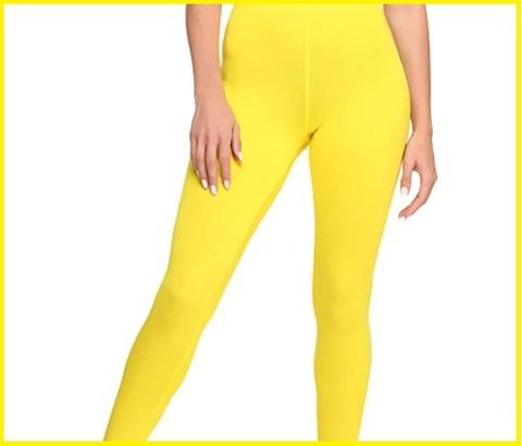 Leggings gialli donna