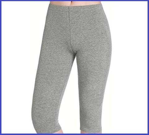 Leggings donna grigio