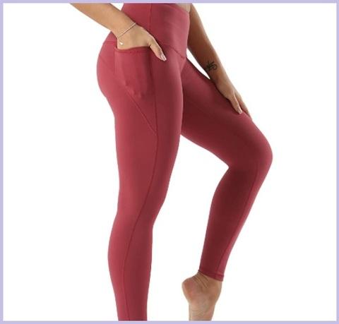 Leggings fitness rosa