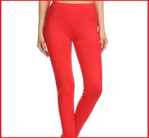 Leggings rossi donna