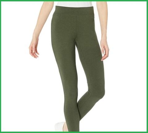 Leggings verde donna