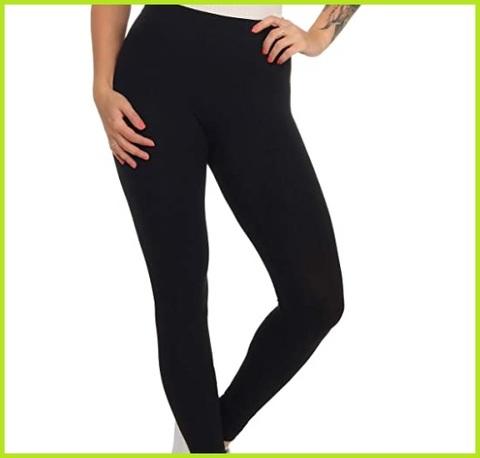 Leggings donna cotone elasticizzato