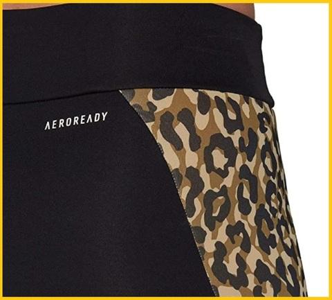 Leggings leopardati adidas