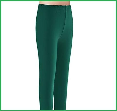 Leggings verde bambina