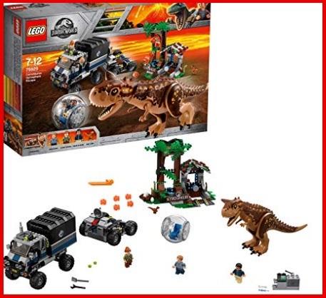 Lego jurassic world personaggi